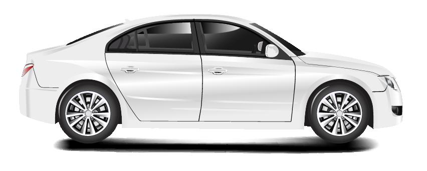 רכב לבן בתל אביב